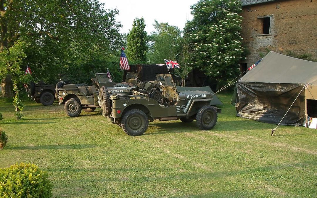 June 2017 : reconstitution camp about D-day landing