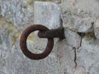 Ring to attach horses donville mansion